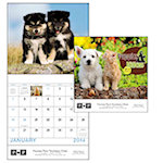 Puppies and Kittens Wall Calendars